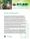 Gender and Biodiversity