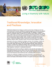 Traditional Knowledge, Innovation and Practices